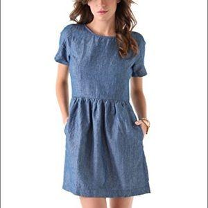 Madewell chambray Avalon Dress size 10